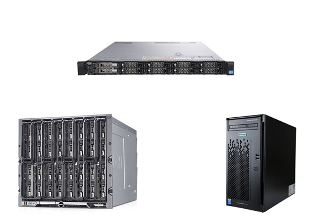 Виды серверов